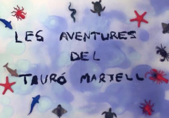 Conte il·lustrat: les aventures del tauró martell