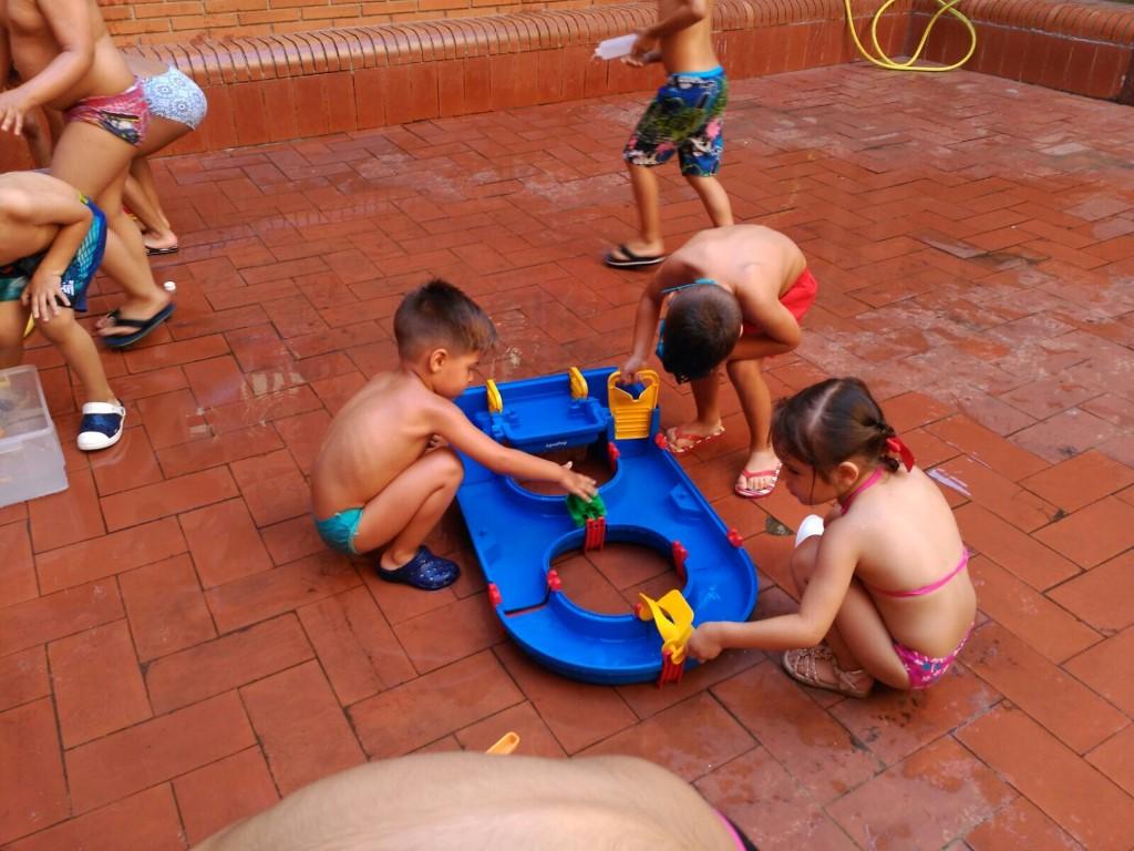 Jocs d'aigua i gelat