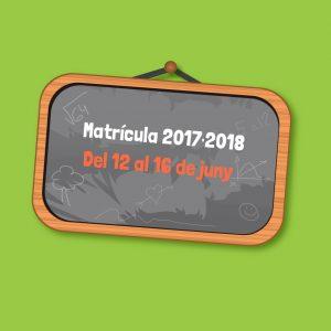 Matrícula 2017·2018