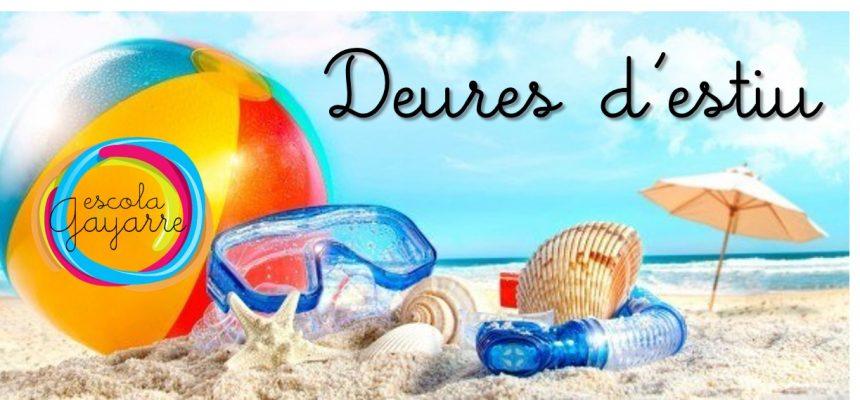 Bon estiu!