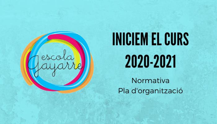 Iniciem el Curs 2020-2021