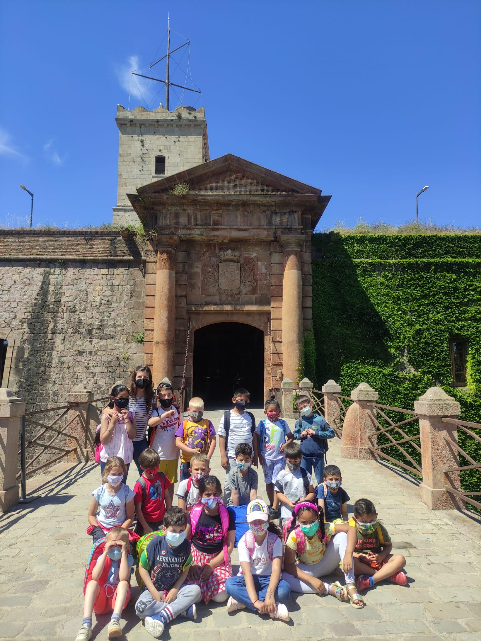 Sortida al Castell de Montjuïc